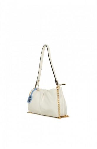 White Shoulder Bags 8682166071265