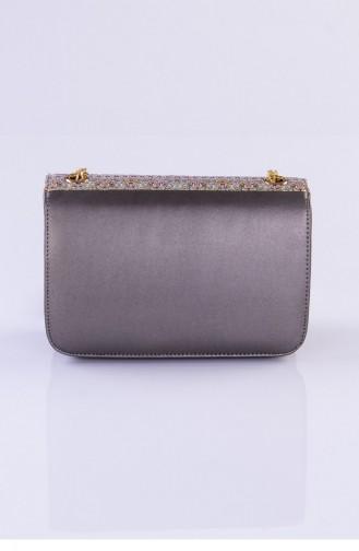 Gray Shoulder Bag 3239