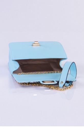 حقيبة كتف تركواز 3265