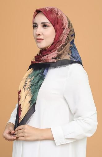 وشاح خردلي فاتح 11401-15