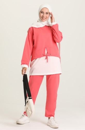 Coral Tracksuit 1019-05