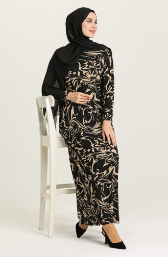 Robe Hijab Beige 2020-01