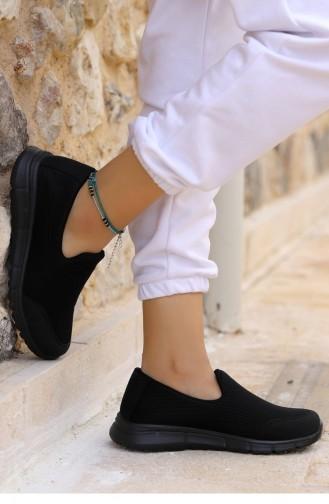 Black Sport Shoes 21YSPORWOGGO020_B