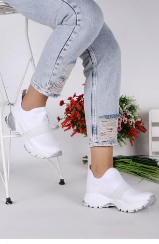 White Sport Shoes 21YSPORWOGGO028_P02