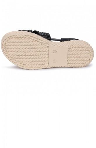 Black Summer Sandals 21YSANWOGGO0025_01