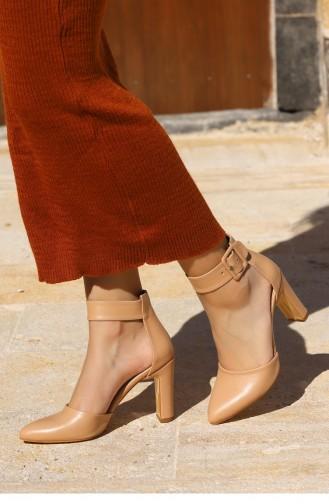 Skin Color Summer Sandals 21YSANWOGGO0002_TE