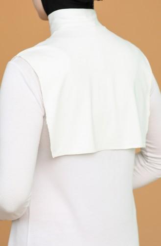 Cream Neck Cover 1022-03