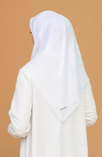 Echarpe Blanc 2377-64