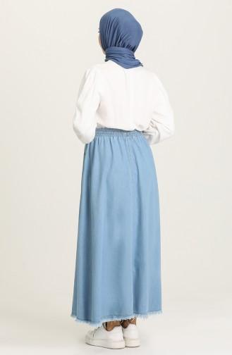 Jeans Blue Rok 71322-02