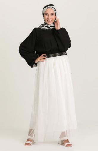 Ecru Skirt 0070-03