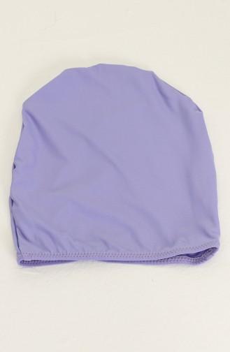 Maillot de Bain Hijab Pourpre clair 0140-18