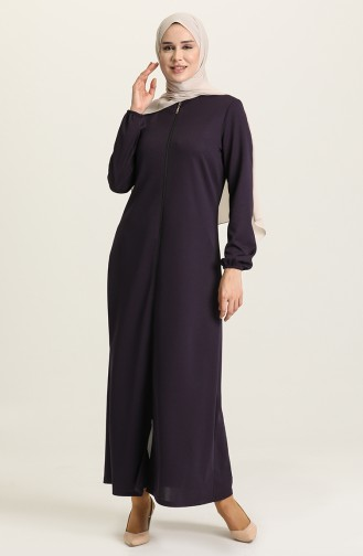 Purple Abaya 1011-08