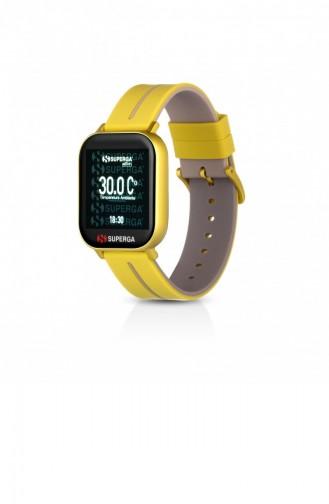 Yellow Wrist Watch 010