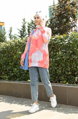 Coral Sweatshirt 5021E-01