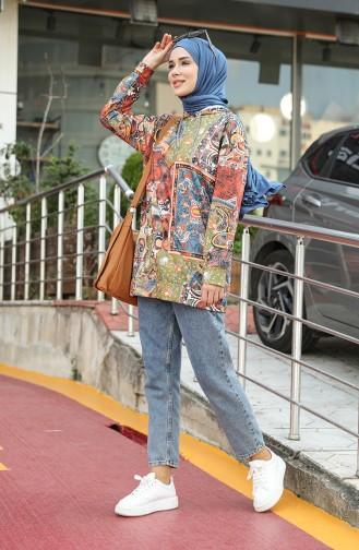 Khaki Sweatshirt 5021R-01