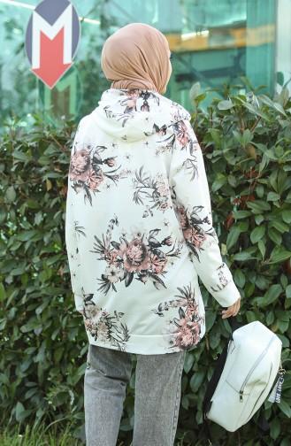 Sweatshirt Couleur Brun 5021G-01
