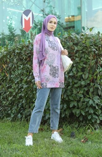 Sweatshirt Lila 5021P-03