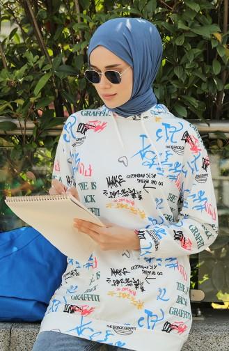 Sweatshirt Noir 5021N-01