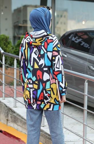 Sweatshirt Noir 5021S-01