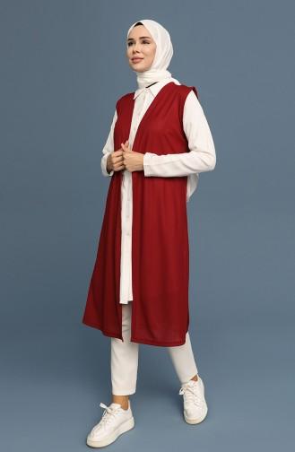 Claret Red Waistcoats 8362-01