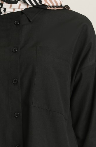 Chemise Noir 2151-02