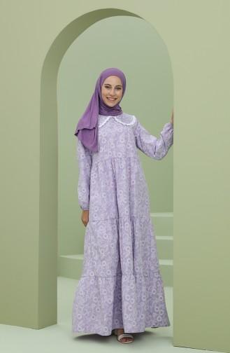 Violet Hijab Dress 2MY1030120047-01