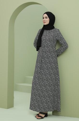 فستان أسود 3302-01