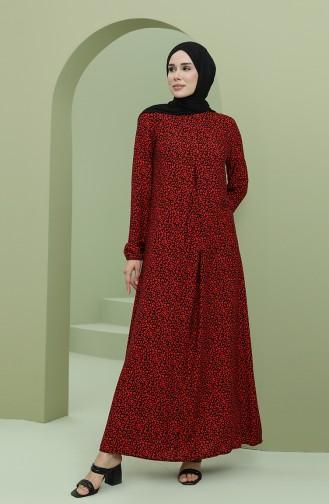 فستان أحمر 3302-03