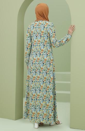 Grau Hijap Kleider 3302-06