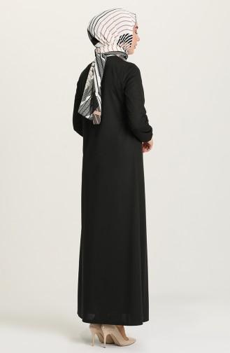 Black Abaya 1020-05