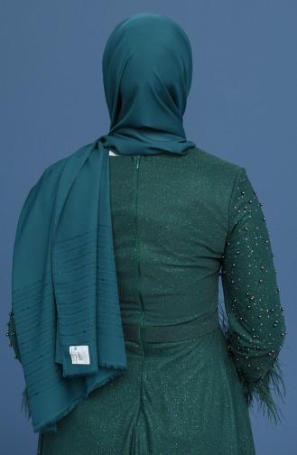 Châle Vert emeraude 1031-08