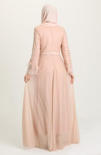 Habillé Hijab Saumon 3062-07