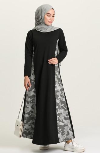 فستان كاكي 1662-01