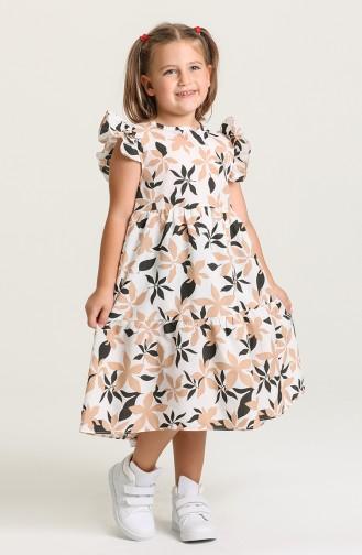 Robe Enfant Beige 5407-03