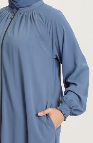 Indigo Abaya 0122A-13