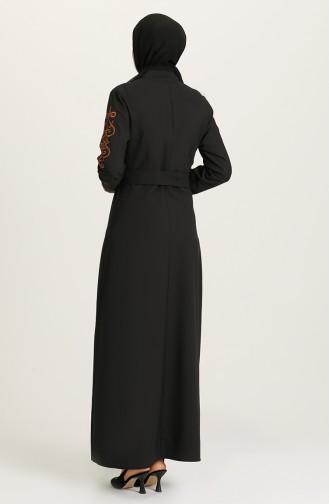 Robe Hijab Noir 2220-04