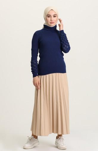Navy Blue Sweater 7308-05