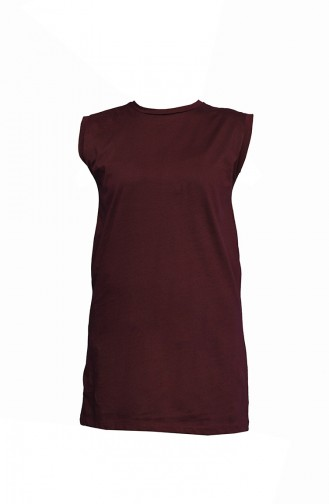 Weinrot Bluse 5091-12