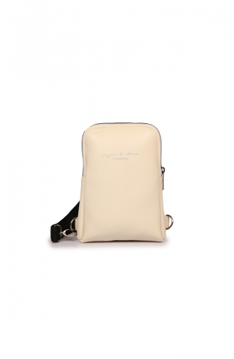 Cream Backpack 78Z-07
