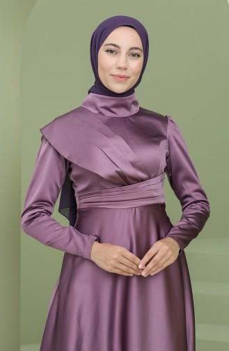 Habillé Hijab Lila 4832-06