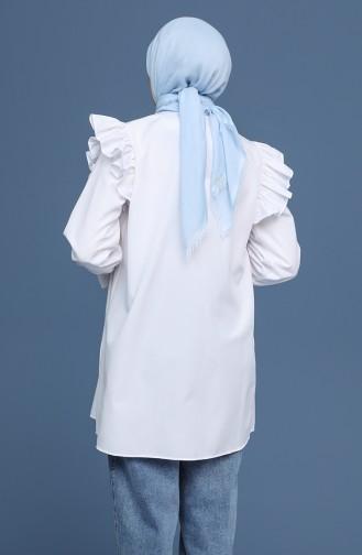 Weiß Hemd 2016-01