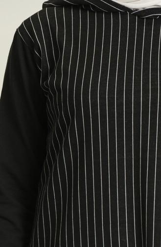 Tunique Noir 1667-02