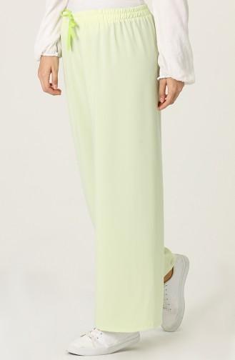 Pantalon Vert Clair 4488-10
