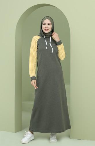 Robe Hijab Khaki 50108P-03