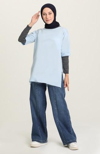 Cache-col Bleu Marine 5378A-02