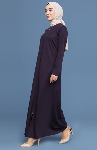 Purple Abaya 1021-04