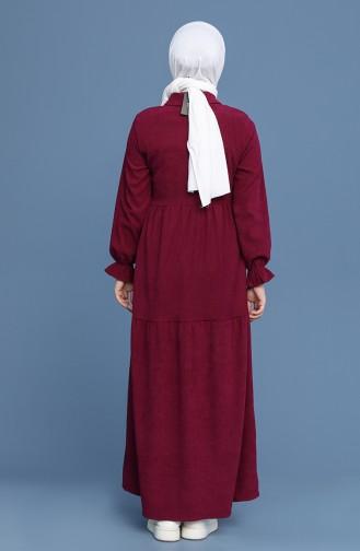 Zwetschge Hijap Kleider 22K8437-01