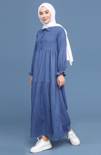 Indigo Hijap Kleider 22K8437-10