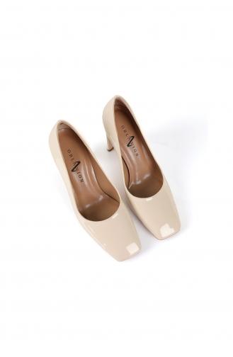 Chaussures a Talons Beige 1478-04