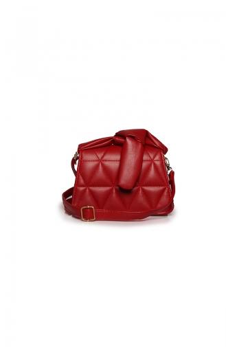 Red Shoulder Bag 17Z-06